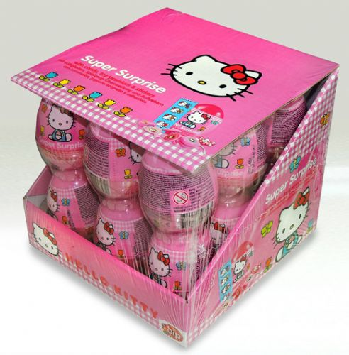 T50 HELLO KITTY EGG x18  (10g)